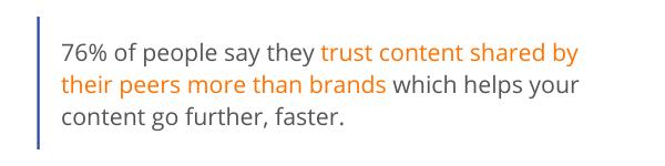 Trust content stat
