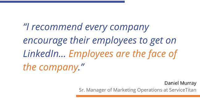 Daniel Murray Quote Employees are the face of the company
