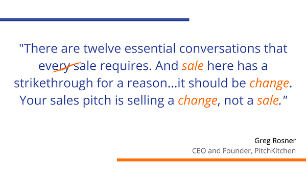 Greg Rosner - Sales Quote - PitchKitchen