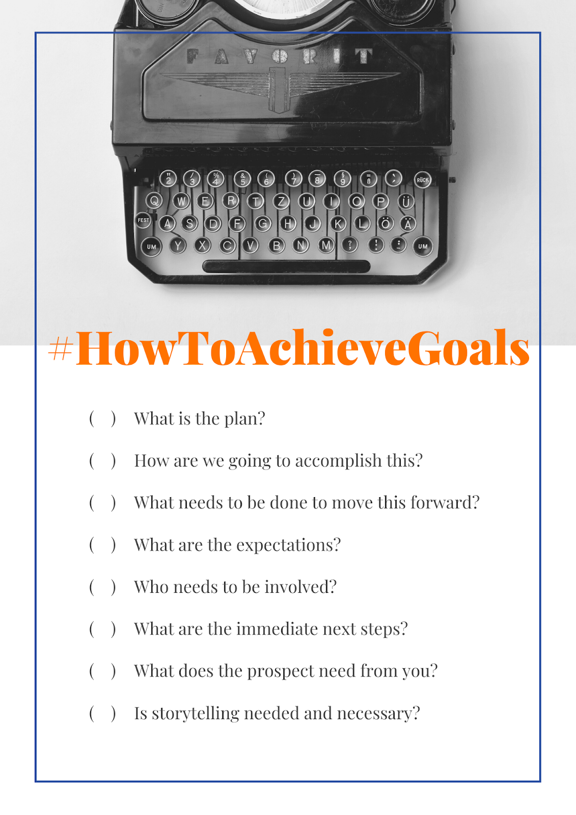 How to Achieve Sales Goals