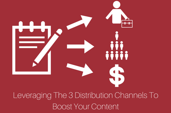 Leveraging The 3 Distribution Channels To Boost Your Content