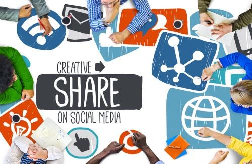 employee social media sharing