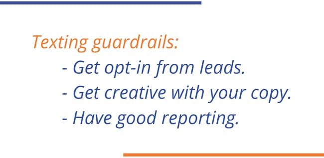 Texting Guardrails