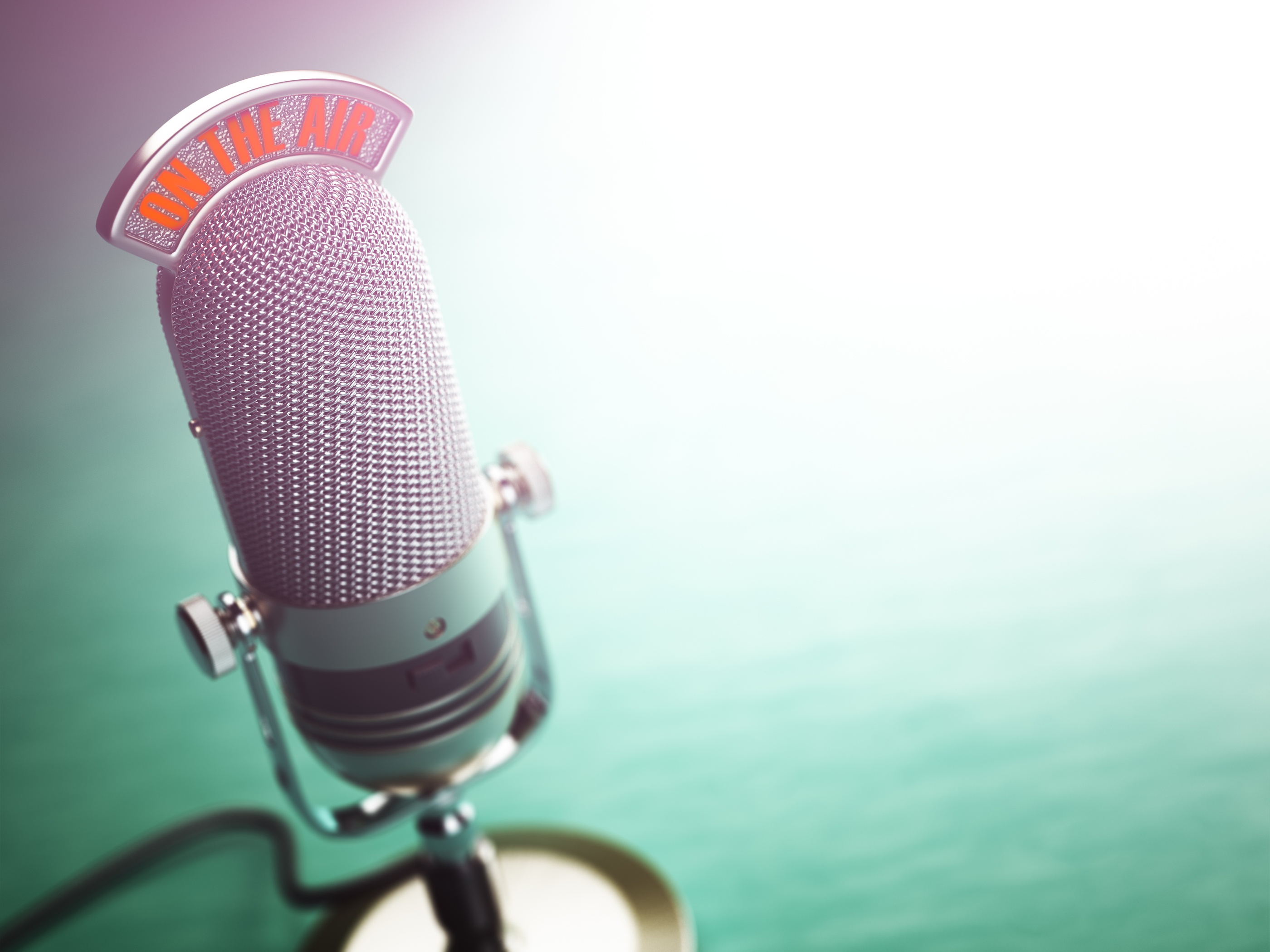 bigstock-Retro-old-microphone-with-text-154255286